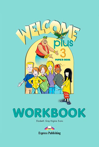 WELCOME PLUS 3 Livro de exercícios