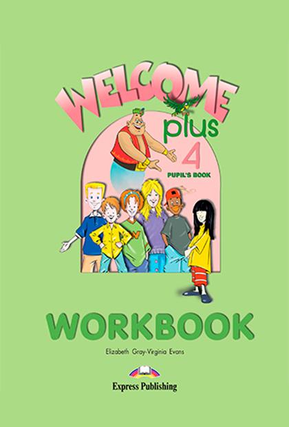 WELCOME PLUS 4 Livro de exercícios