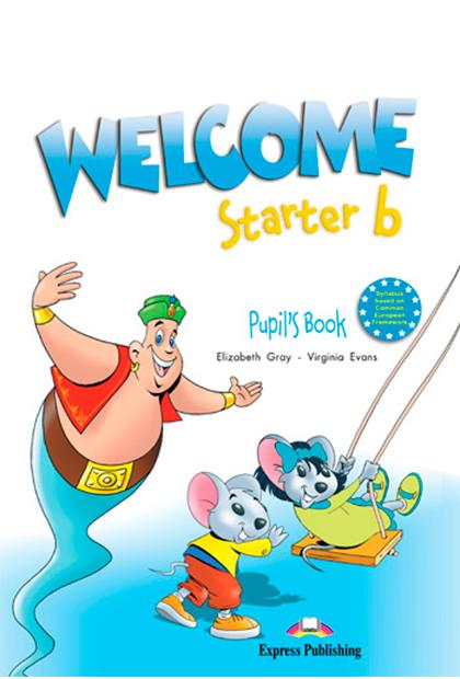 WELCOME STARTER B Livro do aluno